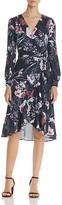 Yumi Kim Cross Roads Floral Print Wrap Dress