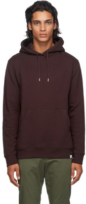 Norse Projects Burgundy Classic Vagn Hoodie
