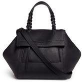 Tory Burch 'Half-Moon' mini leather satchel