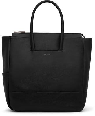 Matt & Nat PERCIO Diaper Bag - Black
