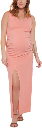 Stowaway Collection Maternity Maxi Dress & Cover Up