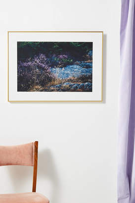 Artfully Walls Landscape with Purple Wall Art