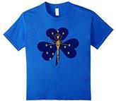 Kids Vintage Irish Flag of indiana Shamrock T-Shirt 8
