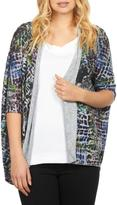 FDJ French Dressing Mosaic Cocoon Cardigan