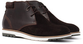 Barbour Heppel Chocolate Suede Chukka Boots