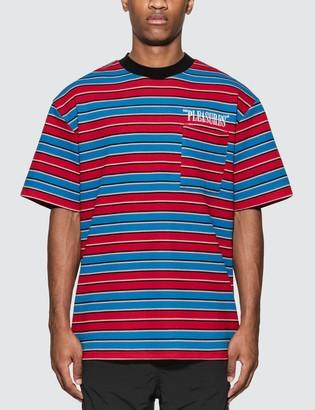 Pleasures Chainsmoke Stripe T-Shirt