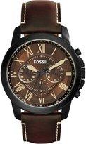 Fossil Men's FS5088 Leather Quartz Watch