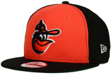 New Era Baltimore Orioles 2 Tone Link Cooperstown 9FIFTY Snapback Cap