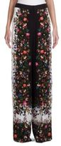 Erdem Birte Convertine Rose Wide-Leg Trousers
