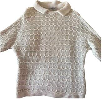 Christian Dior Beige Wool Knitwear for Women Vintage