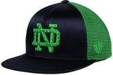 Top of the World Women's Notre Dame Fighting Irish Big Faux-Satin Snapback Cap