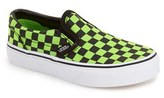 Vans 'Classic - Checker' Slip-On (Toddler, Little Kid & Big Kid)