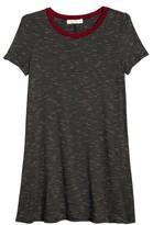 Love, Fire Girl's Stripe Ringer T-Shirt Dress