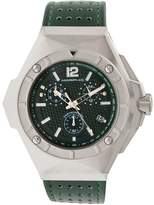 Morphic Men's M55 Series Stainless Steel Green Dial Watch, 52mm