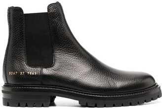 Common Projects ankle-length Chelsea boots