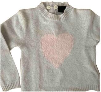 Fendi Grey Wool Knitwear