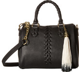 Steve Madden Barrel Braid Stitch Satchel