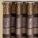Asstd National Brand Safari Stripe Shower Curtain