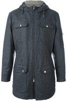 Brunello Cucinelli multi pocket hooded coat