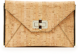 Diane von Furstenberg Agent Gemma Cork Zip On Clutch