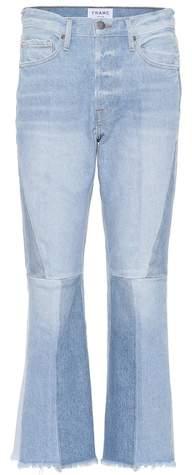Frame Le Panel Block Crop jeans