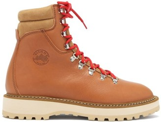Diemme Monfumo Grained-leather Boots - Tan