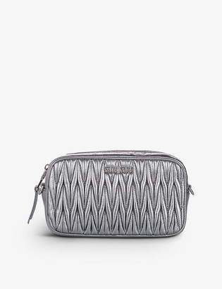 Resellfridges Pre-loved Miu Miu matelasse leather belt bag