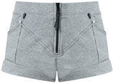 Andrea Bogosian - track shorts - women - Cotton/Polyester - P