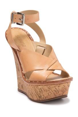 Schutz Elysa Platform Wedge Sandal