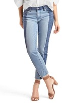 Gap AUTHENTIC 1969 two-tone real straight jeans