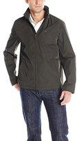 Tommy Hilfiger Men's Stand Collar Zip Front Jacket