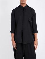 Yohji Yamamoto Regular-fit cotton-line shirt