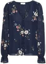 Joie Bolona C Floral-print Silk-georgette Blouse