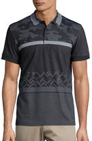 BOSS GREEN Printed Cotton-Blend Polo