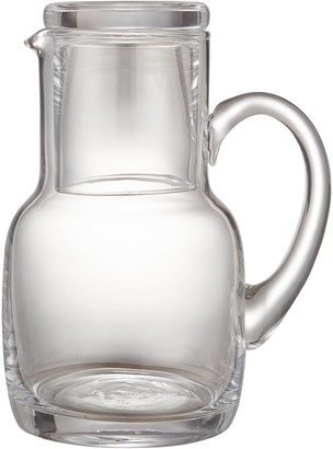 John Lewis & Partners Serve Glass 800ml Carafe and Tumbler, Clear