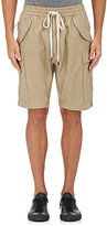 Nlst Men's Cotton Cargo Shorts-Beige, Tan Size M
