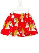 Mini Rodini Unicorn Star skirt - kids - Organic Cotton - 7 yrs