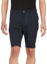 John Varvatos Five-Pocket Knit Shorts