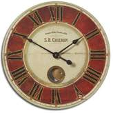 "Uttermost Oversized 23"" S.B. Chieron Wall Clock"