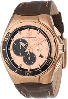 Technomarine Men's 112009 Cruise Steel Evolution Stonewashed Steel Case Brown Dial Watch