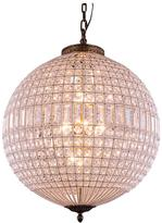 Elegant Lighting Olivia 5-Light French Gold Chandelier with Clear Crystal