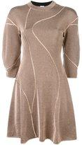M Missoni seam detail knitted dress