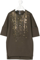 Diesel tunic top with embellishment