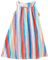 Iris & Ivy Watercolor Stripe Sleeveless Dress (Little Girls)