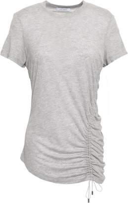 Ninety Percent Lace-up Melange T-shirt