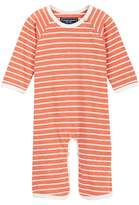 Toobydoo Skate Orange Striped Jumpsuit (Baby Boys)