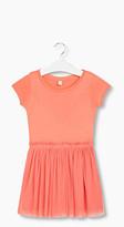 Esprit Fabric blend dress in jersey/glitter tulle