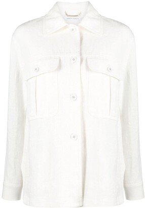 Alberta Ferretti Chest Pocket Shirt
