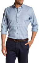 David Donahue Regular Fit Button Down Sport Shirt