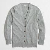 J.Crew Factory Cotton-wool V-neck cardigan sweater